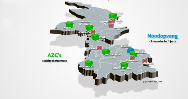 GRAPHIC: Limburg achter met statushouders