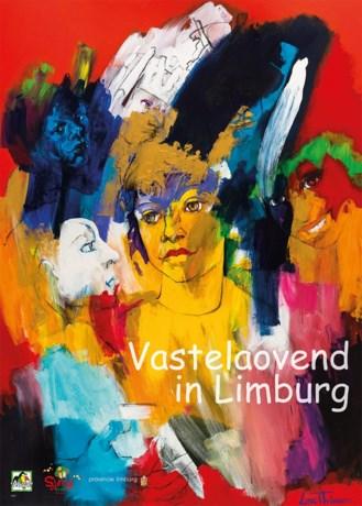 De nieuwe Vastelaovend in Limburg poster is uit