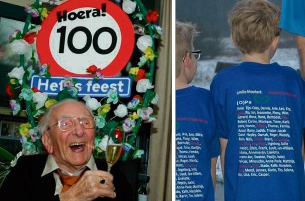 Rennen voor honderdjarige superopa