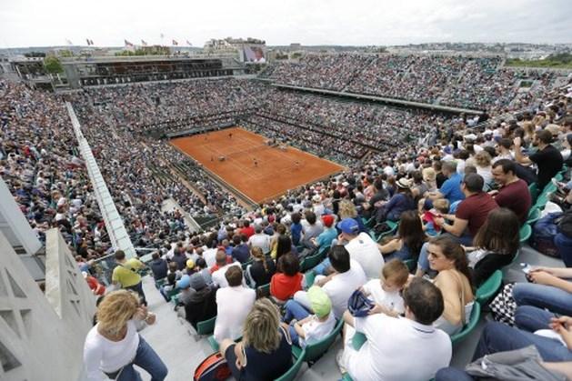 Roland Garros met enige vertraging van start