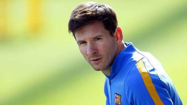 Messi laat verstek gaan in fraudezaak