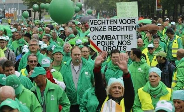 Veel overlast op stakingsdag België