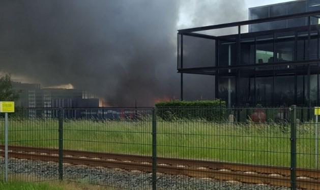 Brand bij chemiebedrijf Apeldoorn