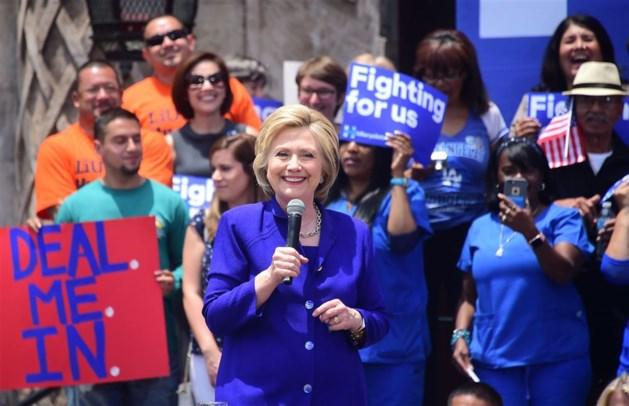 Hilary Clinton heeft nominatie zo goed als binnen