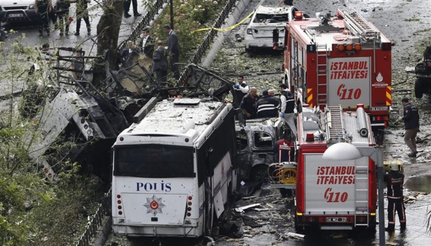 Aanslag in Istanbul: 11 doden