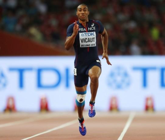 Vicaut evenaart Europees record 100 meter