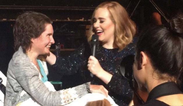 'Knuffel van Adele voelde oprecht'