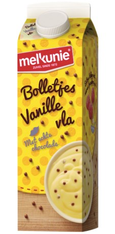 Melkunie roept Bolletjesvla-vanille terug