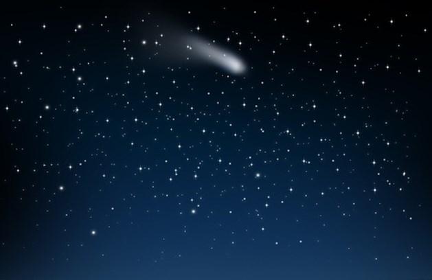 Komende tijd veel vallende sterren te zien