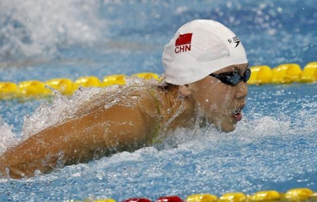 Chinese zwemster Chen Xinyi test positief