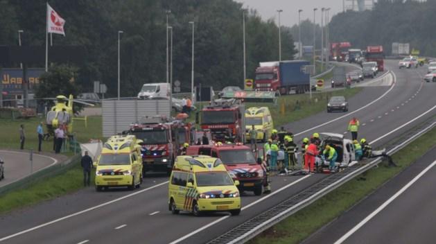 A73: dertien ongelukken in twaalf maanden