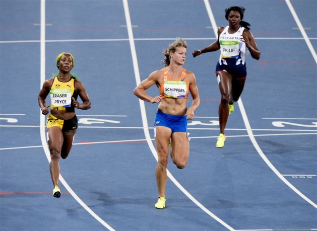 Schippers bereikt finale op 100 meter