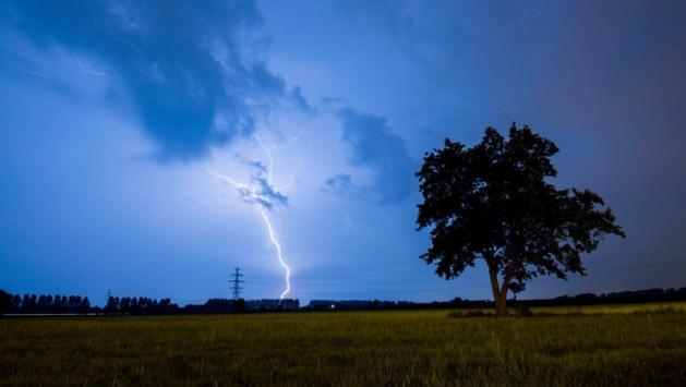 Code geel: zware onweersbuien trekken over Limburg