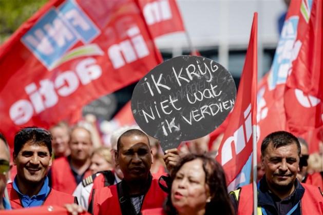 Cao-acties politie, ziekenhuizen en Schiphol