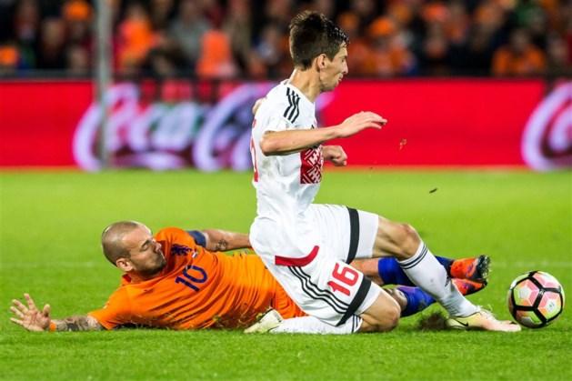 Sneijder niet tegen Frankrijk