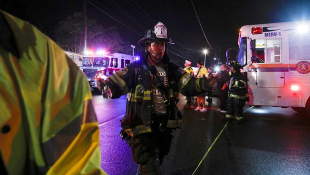 Treinongeluk in New York: 29 gewonden