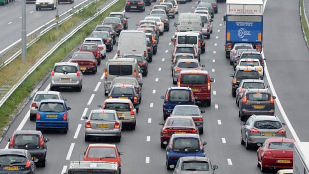 Extra veel verkeer door start herfstvakantie