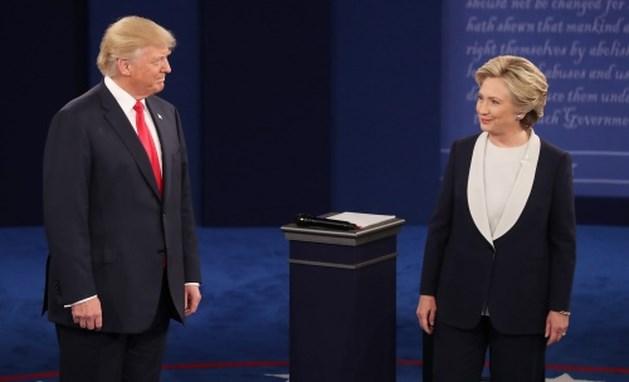 Opmerkelijke momenten uit het debat Clinton en Trump