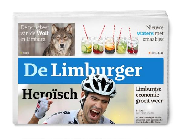 Bjorn Oostra mede-hoofdredacteur van De Limburger