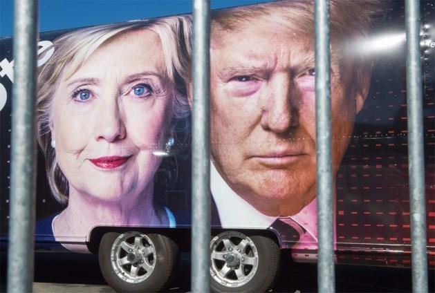 Nieuwste peiling: Trump steekt Clinton voorbij