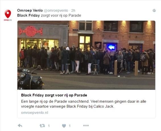 Limburgse koopjesjager omarmt fenomeen Black Friday