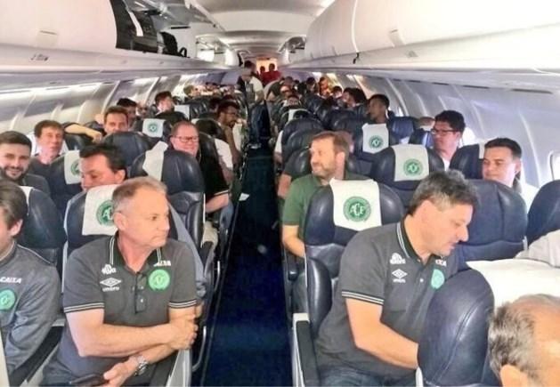 Beelden uit gecrasht vliegtuig opgedoken