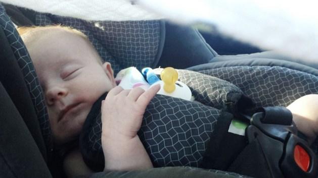 Belgische dief steelt auto met baby er in