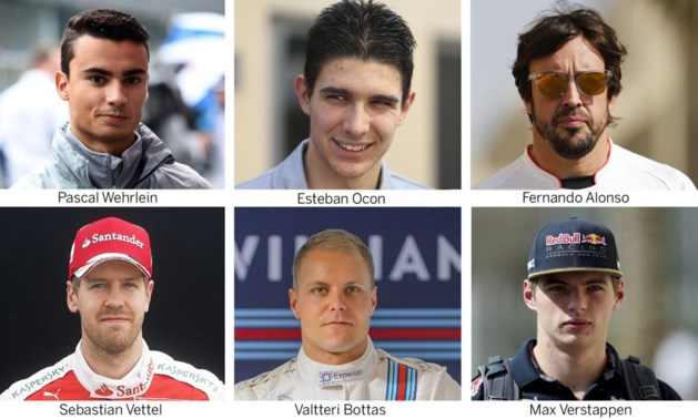 Wie krijgt zitje van Rosberg?