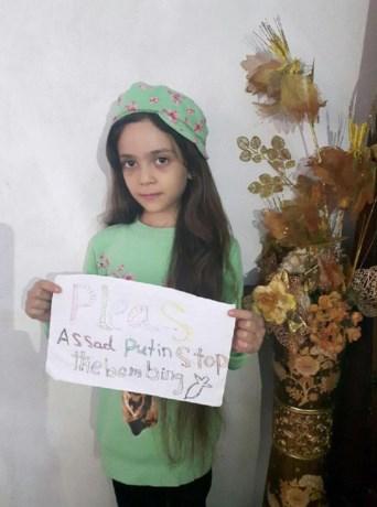 Twittermeisje Bana (7) uit Aleppo is verdwenen