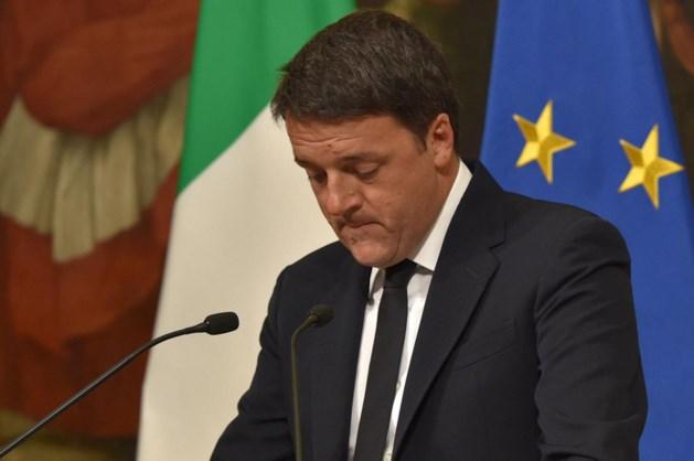 Renzi treedt af na grote winst nee-kamp
