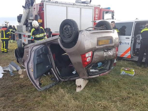 Omstanders reanimeren kind (3) na ongeluk op snelweg
