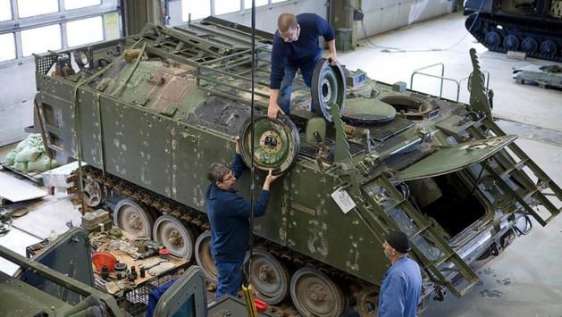Tanks en ander wapentuig in Eygelshoven