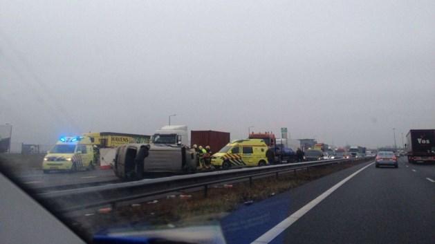 Reeks ongelukken Limburgse snelwegen