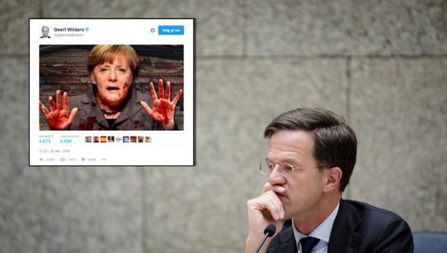 Rutte: Tweet Wilders is smakeloos en onfatsoenlijk