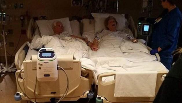 Koppel sterft hand in hand in ziekenhuisbed na 64 jaar huwelijk