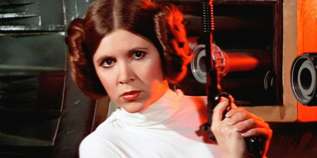 Actrice Carrie Fisher (Prinses Leia) overleden