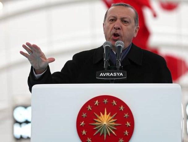 Erdogan: VS steunen ook IS in Syrië