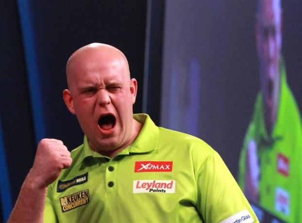 Van Gerwen pakt wereldtitel darts