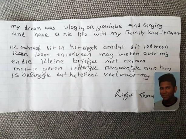 Zo rouwt zijn familie om zelfmoord van 15-jarige scholier
