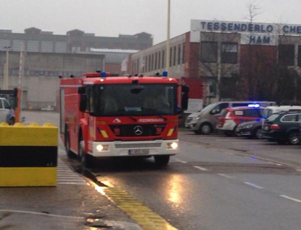 Zoutzuurwolk ontsnapt in Belgisch Limburg