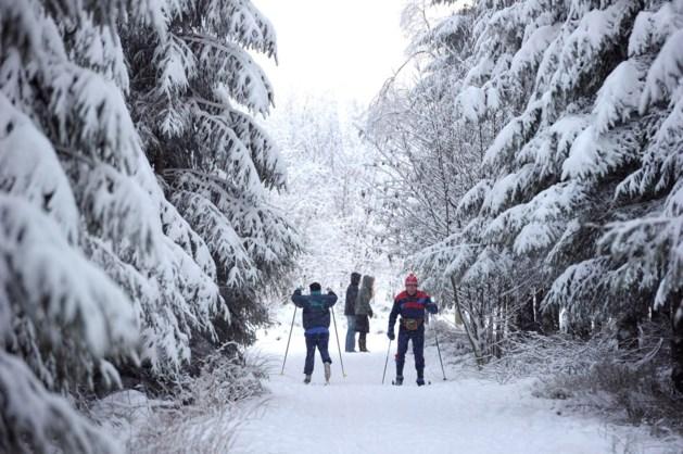 Volop sneeuwpret in Heuvelland en de Ardennen