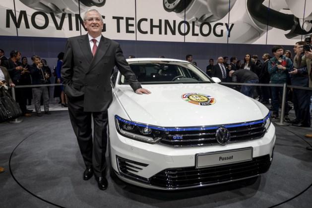 'Oud-topman VW wist eerder van dieselfraude'