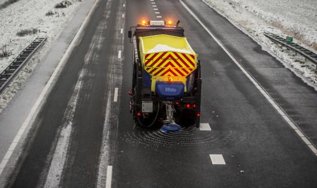 Strooiwagens zijn weer uitgerukt in Limburg