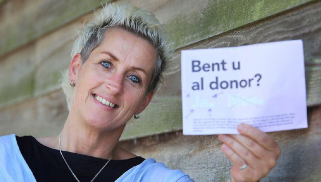 Wilma (48) wil weten wie haar donornier krijgt