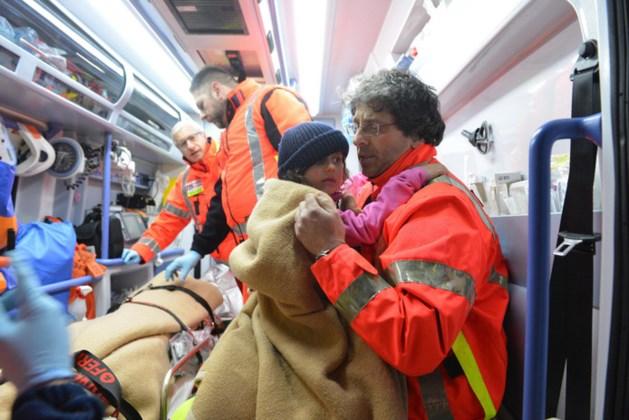 Nog vier overlevenden gered uit Italiaans hotel