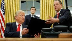 Trump ondertekent eerste decreet tegen Obamacare