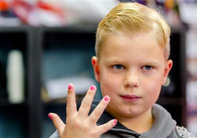 Gezondheid nagellak-held Tijn (6) gaat hard achteruit