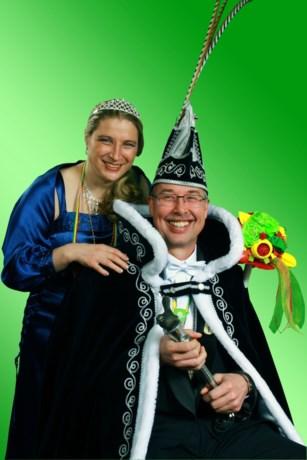Prinsenpaar Mart Prins Mart I (Maria Hoop)