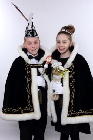Jeugdprinsenpaar Stef en Jente I (Nuth)