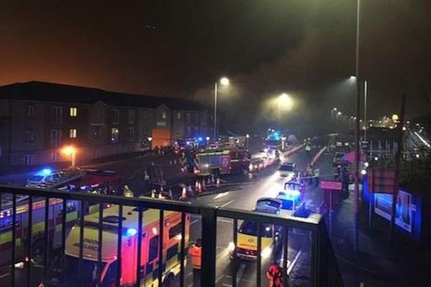 Enorme explosie in flat Londen
